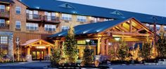 The Heathman Lodge in Vancouver, WA.  It's got a rustic, alpine feel and is absolutely gorgeous when all lit up T night.