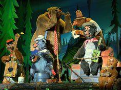 Walt Disney World - Magic Kingdom -Country Bear Jamboree Disney Day, Disney Love, Disney Parks, Walt Disney, Disney Nerd, Disney Stuff, Disney World Resorts, Disney Vacations, Country Bears