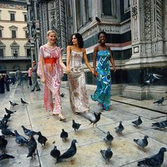 #Fashion in #Florence 1976 Emilio #Pucci archive Image by Bettmann/CORBIS
