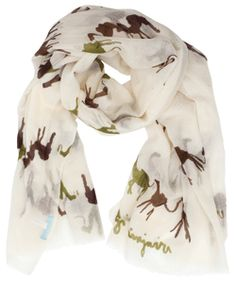 Love these cute camels on the scarf! Virginia Johnson's scarves are so fun for spring! @chelseabella.com