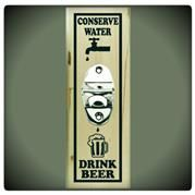 Conserve Water Bottle Opener