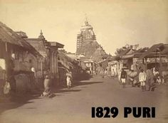 Here is a compilation of some very old photos and paintings of Jagannatha Puri, in Orissa. Many of these photos were taken by William Henry Cornish around Rare Pictures, Rare Photos, Vintage Photographs, Old Photos, Temple Architecture, Indian Architecture, Ancient Architecture, Jagannath Temple Puri, Lord Jagannath