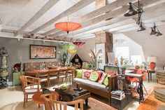 http://www.apartmenttherapy.com/house-tour-a-colorful-converted-attic-in-concord-245406