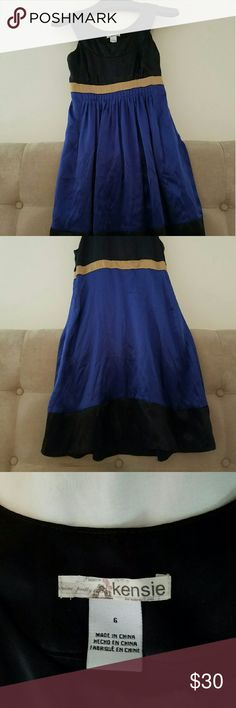 Kensie dress, worn once Kensie 100% silk dress has only been worn once. Kensie Dresses Midi