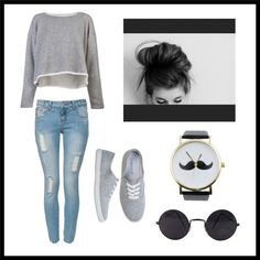 """""""rainy day outfit ☁⚡☔"""" by sasha-scott ❤ liked on Polyvore"""