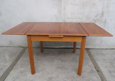 DANISH MODERN TEAK DINING TABLE BY BRDR FURBO