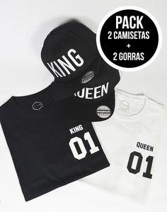 Increíble oferta: Llévate dos gorras bordadas King y Queen y dos camisetas para chico y chica Queen y King por 44,95€ Puedes hacer tus pedidos aquí: http://latiendajoven.com/gorras-planas-accesorios/552-super-pack-king-queen.html Envíos rapidos y seguros. #gorras #accesorios #complementos #snapbacks #camisetas #camisetaspersonalizadas #camisetashombre #camisetasmujer #modajoven