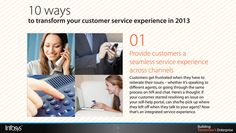 Provide customers a seamless service experience across channels Customer Service Experience, Channel, Thoughts, Ideas