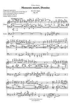 Basic level. PDF score. 5 pages. Organ Music, Sheet Music, Pdf, Music Sheets