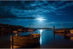 Moonset over Exmouth's Shelly Beach, by Steve Hammond #exeter #devon #photography