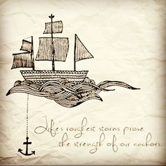Sail below the sky and above the ocean