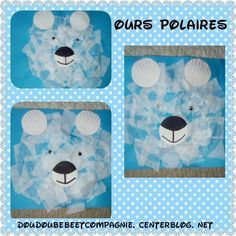 winter Our polar bears - Our polar bears - Boost Your Co Winter Art, Winter Theme, Art For Kids, Crafts For Kids, Polo Norte, Polar Animals, Winter Project, Daycare Crafts, Preschool Crafts