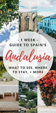 You HAVE to travel to Andalucia Spain (somethings spelled Andalusia). It has some of the beautiful places from the Alhambra in Granada to Cordoba and more. Here's my 1 week itinerary filled with things to do and places to see.