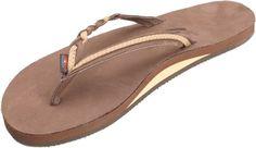acfb7305fadc Rainbow Sandals Premier Leather Flirty Braidy Flip-Flops - Women s