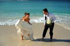 Wedding Idea - first dance on the beach.