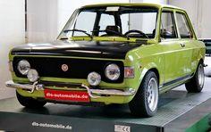 Fiat 128 Rally - unrestored 1972 model - pin by scann R