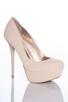 Matte Nude Pumps | shoes | Pinterest | Pump