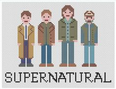 Supernatural cross stitch