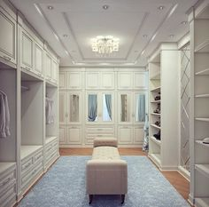 Looking for some fresh ideas to remodel your closet? Visit our gallery of leading best walk in closet design ideas and pictures. Dressing Room Closet, Dressing Room Design, Dressing Rooms, Dressing Area, Walk In Closet Design, Closet Designs, Wardrobe Design, Big Closets, Dream Closets