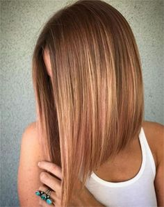 For the Love of Lob: 20 Long-Bob Hairstyles to Inspire You - Hair Cutting - Mode. For the Love of Lob: 20 Long-Bob Hairstyles to Inspire You - Hair Cutting - Modern Salon Long Bob Haircuts, Medium Bob Hairstyles, Easy Hairstyles, Long Bob Hairstyles For Thick Hair, Wedding Hairstyles, Celebrity Hairstyles, Long Angled Haircut, Lob Haircut Thick Hair, Inverted Bob Hairstyles