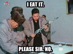 Best Kim Jong-Un thread yet Kim Jong Un Memes, Kim Jong Il, Science Jokes, Kim Jung, Scream Queens, Political Science, World Leaders, North Korea, Trending Memes