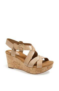 Clarks® 'Caslynn Cheryl' Sandal available at #Nordstrom.  Thank you Nordstrom!