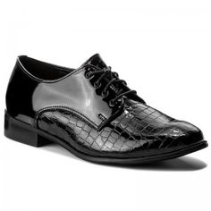 Oxford cipők LASOCKI - 70438-11A Fekete