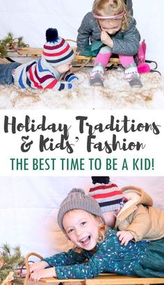 Holiday Traditions and Kids' Fashion Looks - THE BEST TIME TO BE A KID with @Gymboree