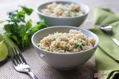 Cilantro Lime Rice | via @foodnfocus