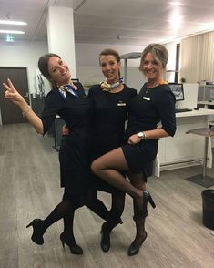 592 best Flight Attendants In Pantyhose In Pantyhose, Nylons, Stewardess Pantyhose, Airline Uniforms, Flight Attendant Life, Female Pilot, Cabin Crew, Sexy Stockings, Vintage Posters