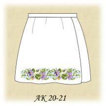 Заготовка к юбке детской АК 20-21