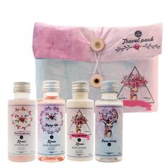 Travel pack Deer (Roses): Shower Gel 50 ml, Hair Shampoo 50 ml, Body Lotion 50ml, Free Bottle 50 ml. Best Gift Pack for her, girls, ladies, fashion lovers.. Special Gifts For Her, Hair Gel, Hair Shampoo, Travel Packing, Shower Gel, Ladies Fashion, Body Lotion, Deer, Best Gifts