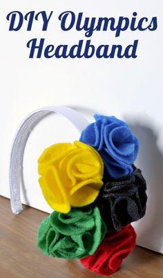 DIY Olympics Headband - The Love Nerds