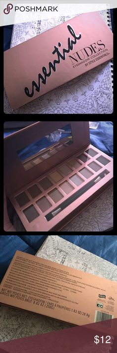 🆕 16 ESSENTIAL NUDES EYESHADOW COLLECTION Brand new. Free gift with purchase. (Not sephora) Sephora Makeup Eyeshadow