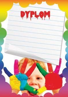 Wesołe dyplomy. Darmowe projekty dyplomów. Children, Summer, Tulle, Boys, Kids, Summer Recipes, Summer Time, Sons, Kids Part