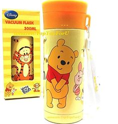 Disney Winnie The Pooh Stainless Steel Vacuum Flask Thermos Water Bottle Keep Warm/Cold 10Hrs @ niftywarehouse.com #NiftyWarehouse #Disney #DisneyMovies #Animated #Film #DisneyFilms #DisneyCartoons #Kids #Cartoons
