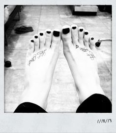 One of Demi Lovato's tattoos-  I love this