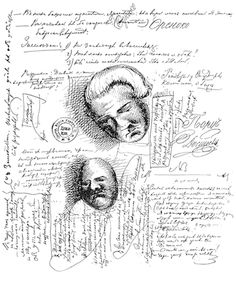 Explore – Dostoyevsky's manuscript doodles – a fine addition...