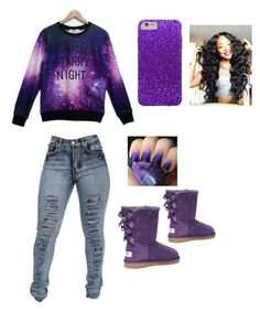 """""""Stary Night✴⭐⭐✨✨✨✨"""" by naomionfleek ❤ liked on Polyvore featuring Victoria's Secret, women's clothing, women, female, woman, misses and juniors"""