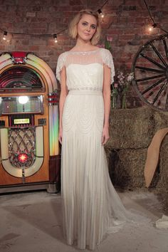Pin for Later: Jenny Packham Has Your Vintage-Inspired Wedding all Sewn Up