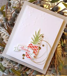 Love the simplicity and classic elegance of this card!