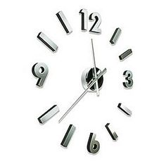 $49.95 Self Design Modern Contemporary Abstract Wall Clock - Numbers  From Cupecoy Design   Get it here: http://astore.amazon.com/ffiilliipp-20/detail/B000T9Y0TO/186-3304819-9308911