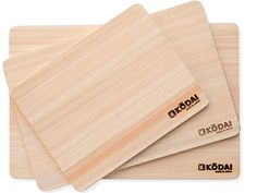 Japanese Cypress Cutting Boards