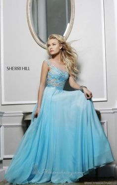 Off Shoulder Gown by Sherri Hill 11151
