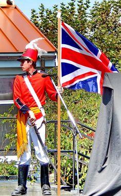 2013 reenactment of the War of 1812 Battle of Caulk's Field.