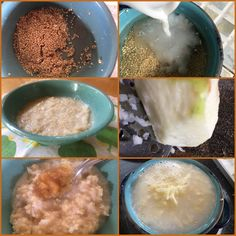Backtoeden: Colada de Quinua y Menzana Oatmeal, Breakfast, Food, Almonds, Lunches, The Oatmeal, Morning Coffee, Rolled Oats, Essen
