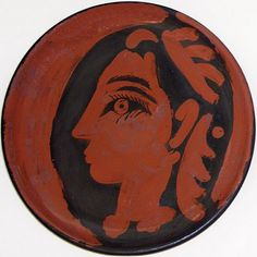 "Pablo Picasso - ""Jacqueline`s Profile"", 1962"