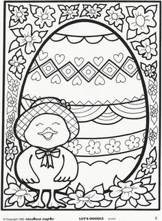 Let Doodle Coloring Pages | ... coloring page. Free Educational Insights printable from Let's Doodle
