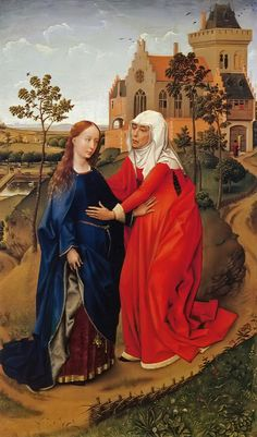 The Visitation - Rogier van der Weyden - 1435