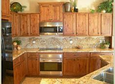 knotty alder wood cabinets - Google Search